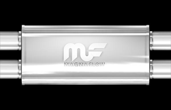 Magnaflow Universal Mittelschalldämpfer 76mm X-Cross