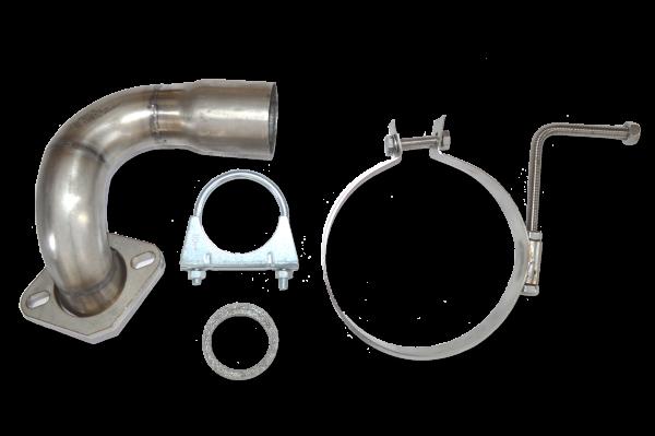 Montage Kit Universal Schalldämpfer - Mazda 6 GG 1,8 / 2,0