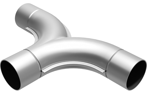 Magnaflow Universal T-PIPE 63,5mm