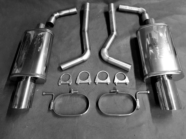 Magnaflow Schalldämpfer Audi A4 B7 2,0 3,2 Quattro