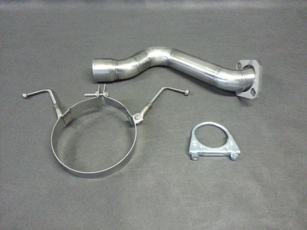 Montage Kit Universal Schalldämpfer - Honda CIVIC EJ9