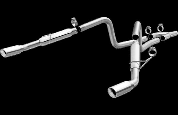 Magnaflow Schalldämpfer Anlage Mustang V6 4,0 05-09