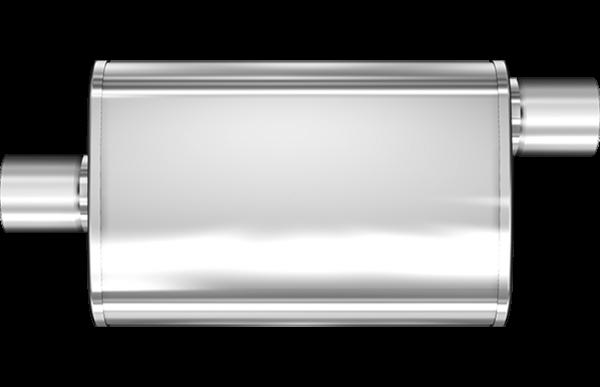 Magnaflow Universal Schalldämpfer 76mm versetzt