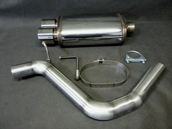 Magnaflow Schalldämpfer Audi A4 B6
